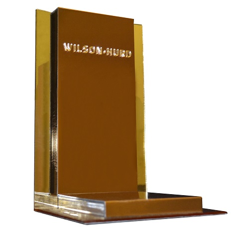 Gold Mirrored Point-of-Purchase Displays